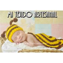 Disfraz Bebé Tejido Al Crochet Varios Modelos