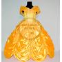 Disfraz Princesa La Bella Y La Bestia Vestido Deluxe Disney