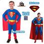 Disfraz De Superman De Sulamericana La Mejor Calidad