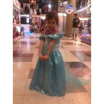 Vestido Disfraz De Princesa