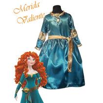 Disfraz De Princesa Merida Valiente