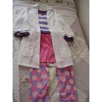 Traje Disfraz Nena Doctora Juguetes Disney Importado 6-10