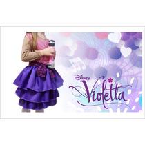 Disfraz Violetta - Disfraces Infantiles Artesanales Frozen