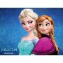 Vestido Disfraz De Frozen Elsa Y Anna