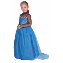 Disfraz Frozen Elsa Coronacion Licencia Disney Original