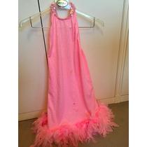 Vestido/disfraz Con Plumas