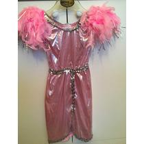 Vestido/ Disfraz Con Plumas