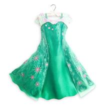 Nuevo Modelo! Disfraz Elsa Frozen Unico! Disney Store Usa!