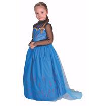 Disfraz Frozen Elsa Coronacion Licencia Disney Original.