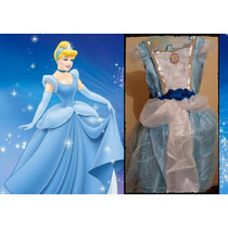 Disfraz Cenicienta Dos Modelos Pelicula Disney Importado
