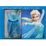 Disfraz Frozen Elsa Vestido Elsa Regalo Cumple Importado