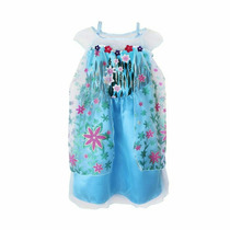 Vestido Disfraz Frozen Fever Importado Elsa