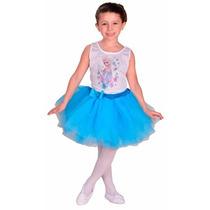 Disfraz Frozen Elsa Bailarina Con Licencia Disney Original.