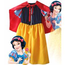 Blancanieves Disfraz Princesa Con Capa - Artesanal Frozen