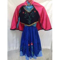 Vestido Anna Frozen Coronación
