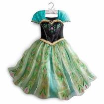 Disfraz Frozen Original Disney Store Nuevo