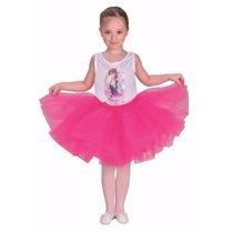Disfraz Frozen Anna Bailarina Con Licencia Disney Original.