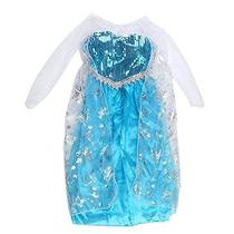 Vestido Disfraz Elsa Frozen Nena Envios A Todo El País