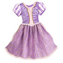 Disfraz Vestido De Princesas Disney Store Usa Original 2016