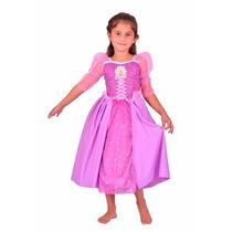 Disfraz Rapunzel Licencia Disney Original Villa Urquiza