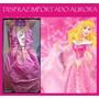 Disfraz Aurora Vestido Bella Durmiente Princesa Importado