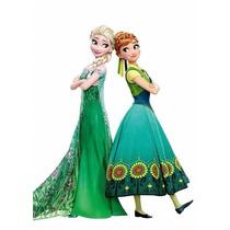 Vestido Disfraz Frozen Anna Importados! Miralos!