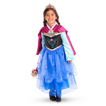 Vestido Disfraz Anna De Frozen- Original Disney Store Usa!