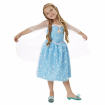 Vestido Elsa Frozen Musical Con Luces!! Orig. Disney Store!!