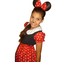Disfraz De Minnie Para Niña - Minnie Mouse
