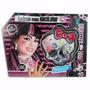 Set Monster High Peluca Maquillaje Draculaura Tv.