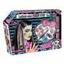 Monster High Frankie Set De Maquillaje Peluca Uñas De Tv