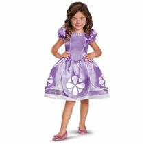 Disfraz Princesa Sofia Disney Original Importado Con Amuleto