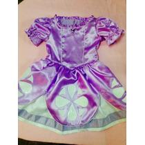 Vestido Princesa Sofía Disfraz Niña Nena Disney