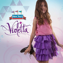 Disfraz Violetta Licencia New Toys