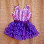 Vestido Violetta Disfraz Disney En Mi Mundo