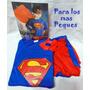 Disfraz Superman, Hombre Araña Rojo Y Negro