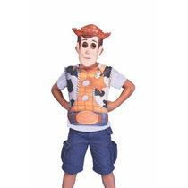 Disfraz Mascara Y Pechera Woody O Buzz Lightyear Toy Story