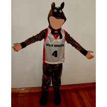 Disfraz Niños Caballo Pony Basquet Excelente Carnaval Murga