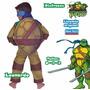 Las Tortugas Ninja Disfraz 4 Modelos Jugueteria Bunny Toys