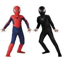 Disfraz Hombre Araña Negro Envio Sin Cargo Capital