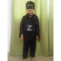 Disfraz Del Zorro C/ Capa, Antifaz Y Faja!!!!