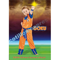 Disfraz Original Goku Dragon Ball Z