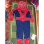 Disfraz Hombre Araña Spiderman Niño Sin Uso Nuevo 46x109cm