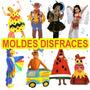 Moldes Imprimibles Hacer Disfraces Para Niños! Super Facil
