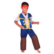 Disfraz Jake Y Los Piratas Juguetería El Pehuén