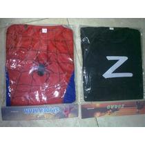 Disfraz Hombre Araña / Superman / Batman / Zorro - Oferta!