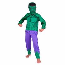 Disfraz De Hulk Avengers Marvel Original Talle 2 7/8 Años