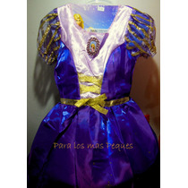 Disfraz Armado De Rapunzel - Hermoso!!!