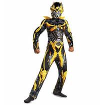 Disfraz Transformers Optimus Prime Y Bumblebee Con Musculos