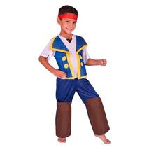Disfraz Pirata Jake ! Talle 0- 1- 2 - Minijuegosnet
